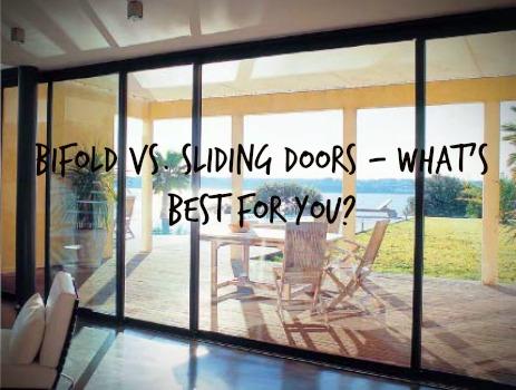 Bifold Doors Vs Sliding Doors What S Best For You