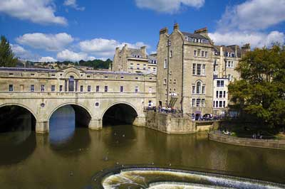 Bath's Pulteney Bridge, River Avon