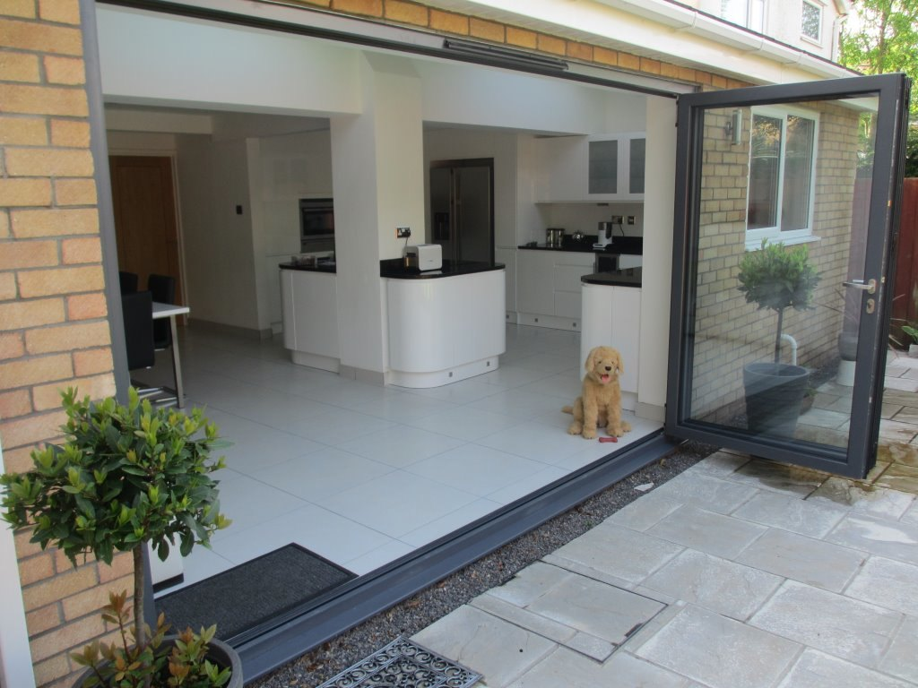Aluminium Bifold Door And The Best Selling Of All Our Bifold Doors