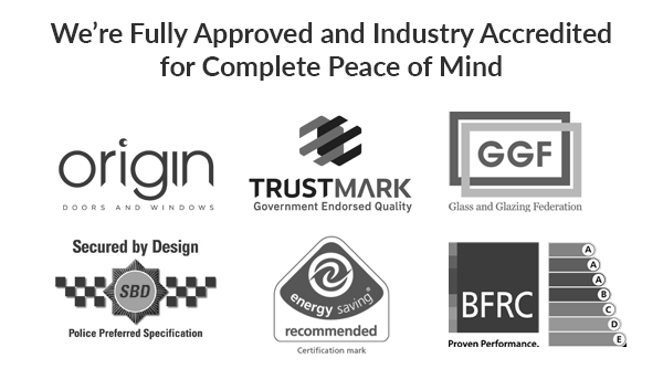 Accreditations for Bristol Bifold and Sliding Doors