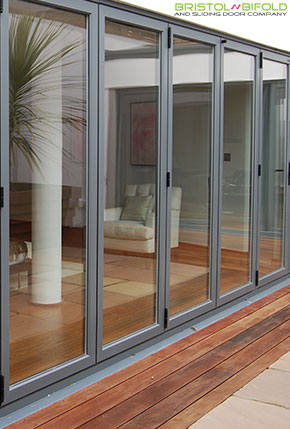 Aluminium bifold and sliding doors for Taunton residents