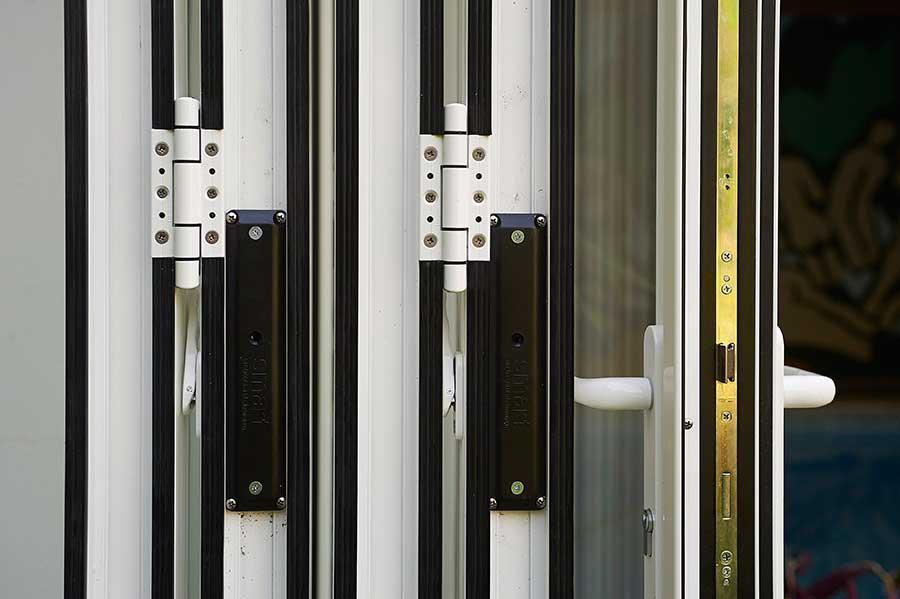 Photos real aluminium bifold doors supply install for 12 bifold door