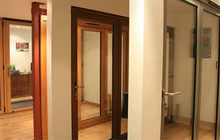 Bi-fold Door Showroom