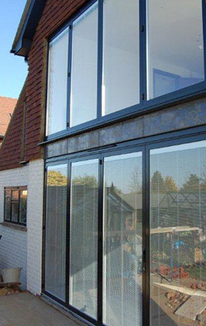 Sunflex 55 Aluminium Bifold Patio Door