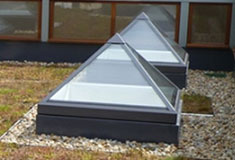 pyramid square skylight
